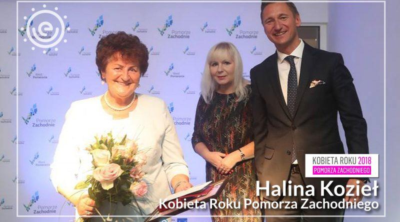 Halina Kozieł Kobietą Roku !