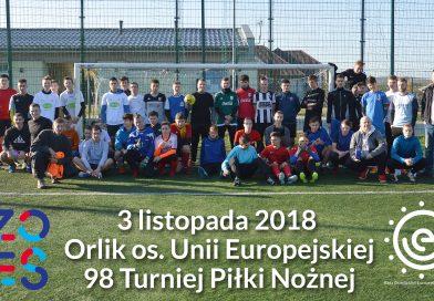 Za nami 98 turniej piłkarski