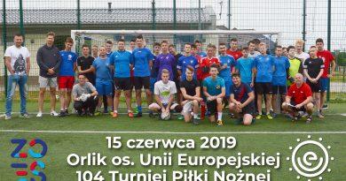 Czerwcowy turniej piłkarski na os.UE
