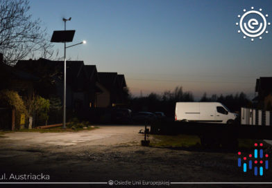Lampy solarne na naszym osiedlu